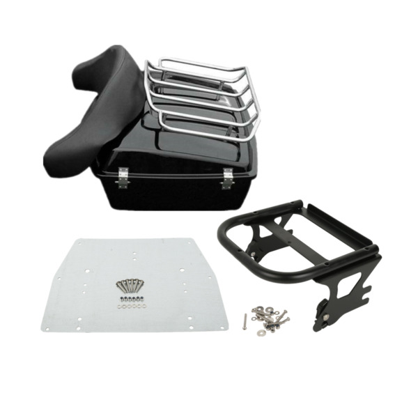 10.7quot; Chopped Pack Trunk For Harley Tour Pak Touring Road King Glide 1997 2008 $329.52