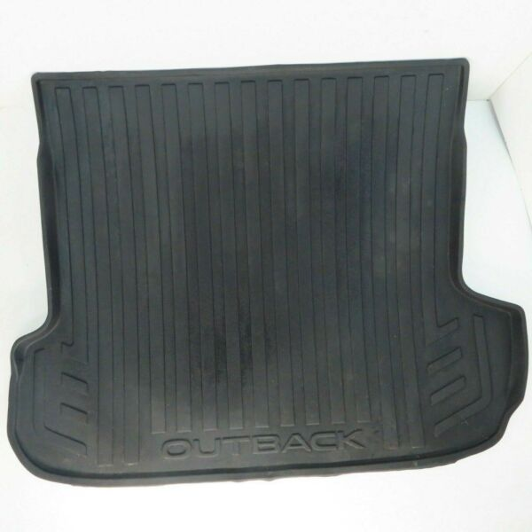 15 19 Subaru Outback Trunk Rubber Mat Floor Liner All Weather Rear Hatch $69.95