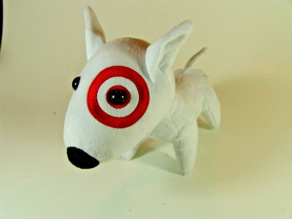 Target Bullseye Stuffed Dog LARGE 18quot; x 14quot; VERY RARE NEW in Package $195.00