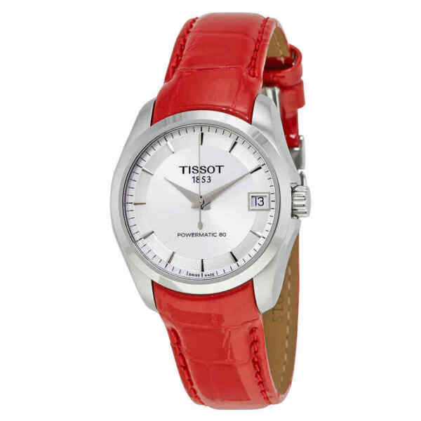 Tissot Couturier Powermatic 80 Automatic Ladies Watch T0352071603101 $185.63