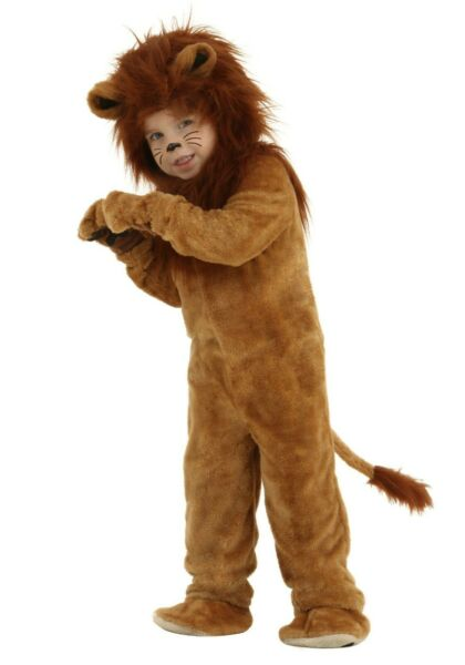 Toddler Infant Deluxe Cowardly Lion Costume Size 6 9m 18m 2T 4T Used