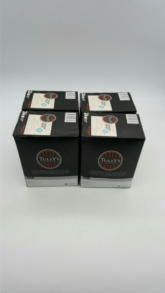 96CT Tully#x27;s French Roast Coffee Keurig Cups