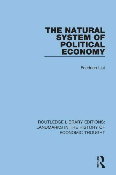 The Natural System of Political Economy $56.78