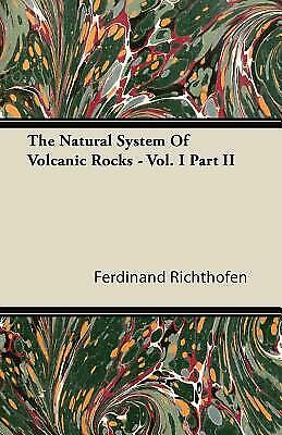 The Natural System Of Volcanic Rocks Vol I Part Ii $28.02