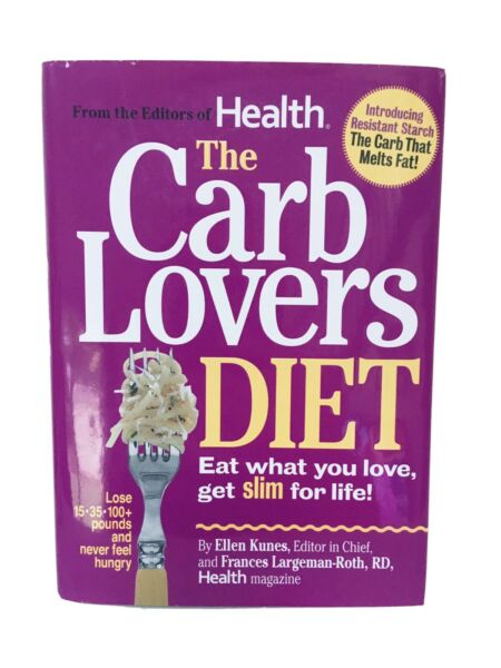 The Carb Lovers Diet Hardcover $7.00