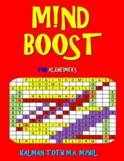 M nd Boost for Alzheimer#x27;s: 132 Entertaining amp; Therapeutic Large Print Word... $12.08