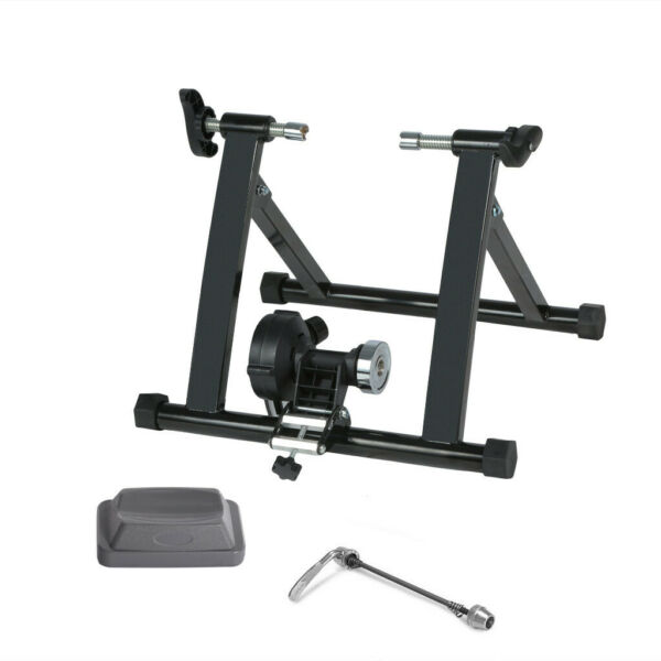 Bike Trainer Stand Magnetic Bicycles Stationary Stand For Indoor Exercise Indoor $116.57