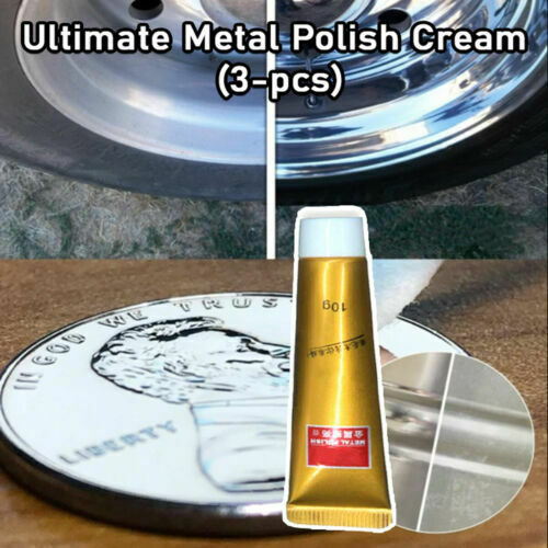 Ultimate Metal Polish Cream 3 pcs USA