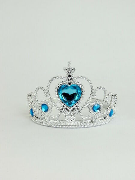 Blue Heart Tiara Crown  for 18'' dolls by American Fashion World New