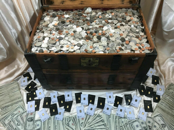 OLD US COINS MIXED LOTS SILVER UNCIRCULATED VINTAGE MONEY SET .999 BARS BULLION $39.94