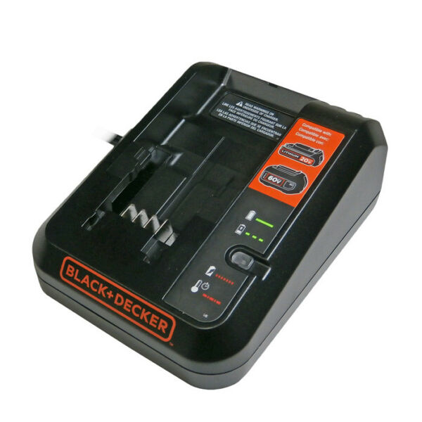 Black and Decker Genuine OEM Replacement 60V Max Lithium Ion Charger # 90642267