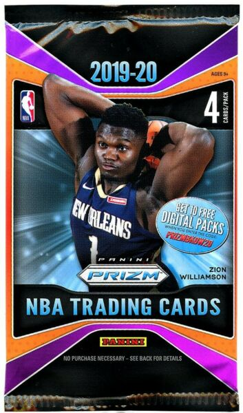 2019 20 PANINI PRIZM RETAIL PACK 1 PACK FROM SEALED WAX BOX FREE SHIPPING