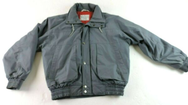The Mens Store Sears Mens Medium 38 40 Full Zipper Lined Insulated Jacket