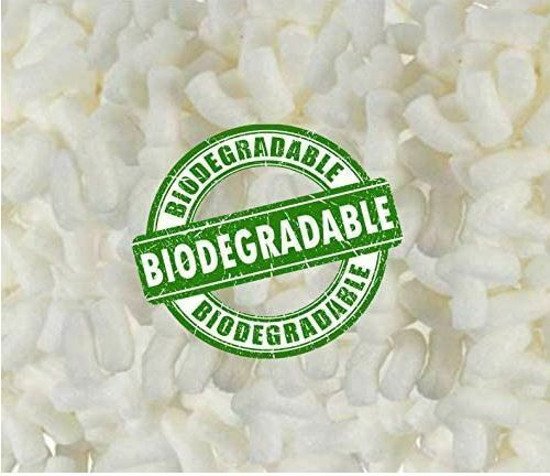Biodegradable White Packing Loosefill Popcorn Anti Static Peanuts Secure Seal $21.80