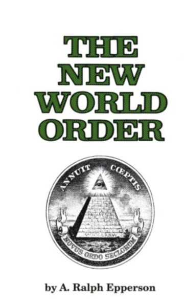 The New World Order Ralph Epperson