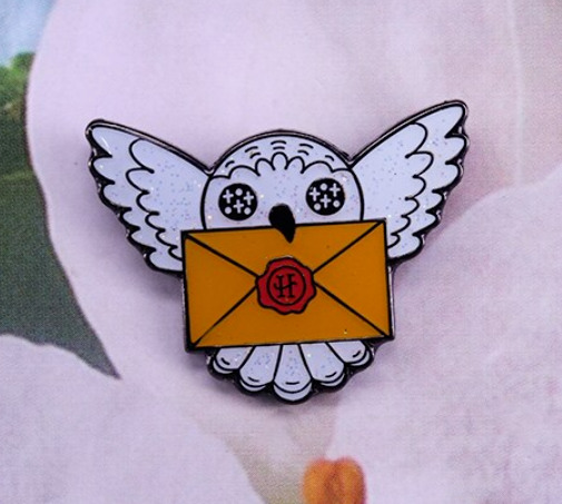 Owl Hedwig Enamel Pin Harry Potter Pins