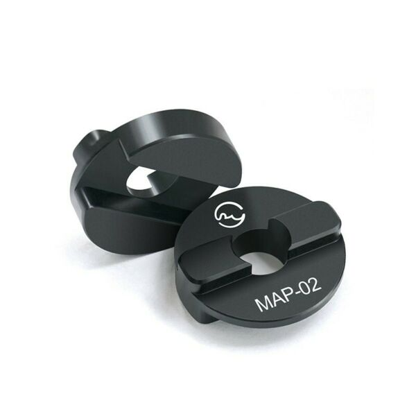 MAP 02 Ball Head Adapter Clamp Adapter For Manfrotto Ball Head To QR Clamp tps