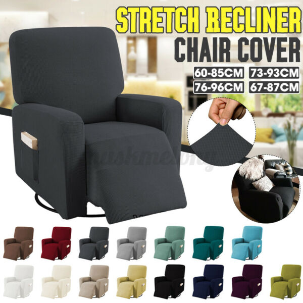 Stretch Recliner Slipcover Signal Sofa Couch Chair Covers Protector W Pocket $31.59