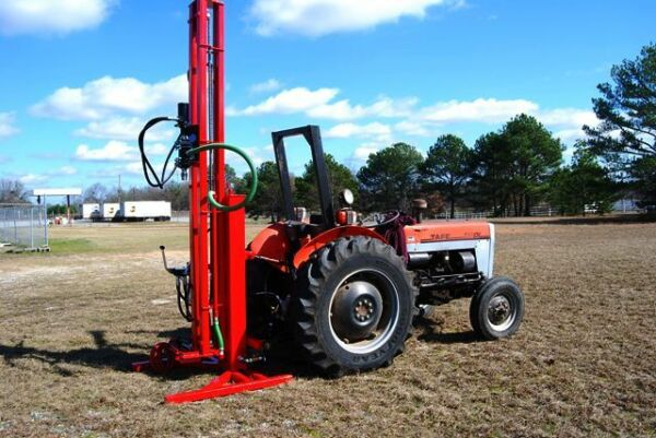 Water Well Drilling Rig Drill Pump Driller Hydraulic Geothermal Boring Equipment $7200.00