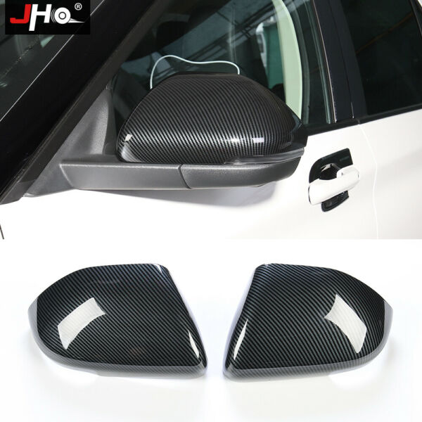 Carbon Grain Side Rearview Mirror Cover Trim Overlay for Ford Explorer 2020 2021 $37.05