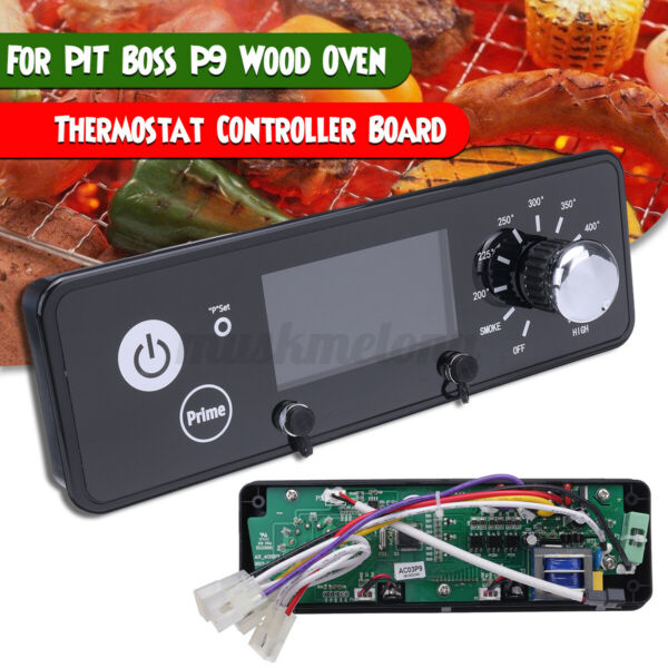 120V P9 Thermostat Controller Board With LCD Display For PIT P9 Wood Oven ❤ $36.29