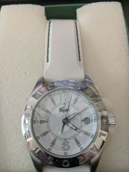 LACOSTE by MOVADO NEW WATCH STAMPED ALLIGATOR