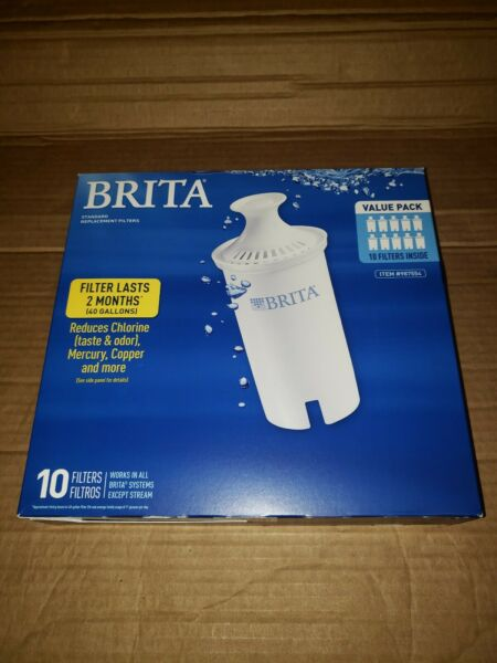 Brita Pitcher Standard Replacement Filters 10 Pack 987554