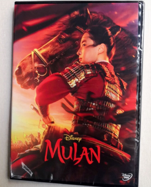 Mulan 2020 New Movie DVD LIVE ACTION W REAL POEPLE $15.80