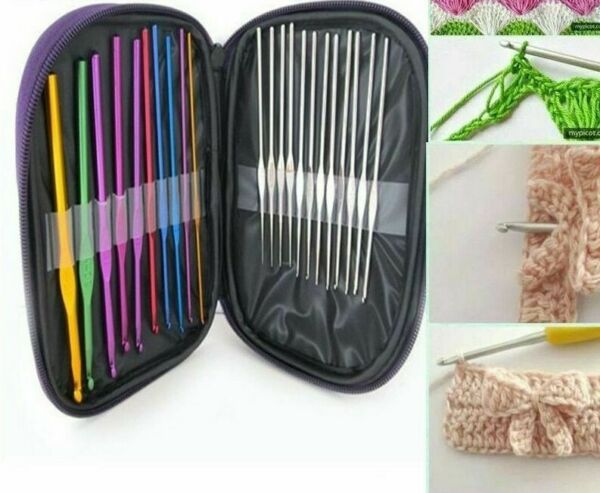 Hand Sewing Needles Aluminum Hooks Eco Friendly Stainless Steels Knitting Needle $14.24