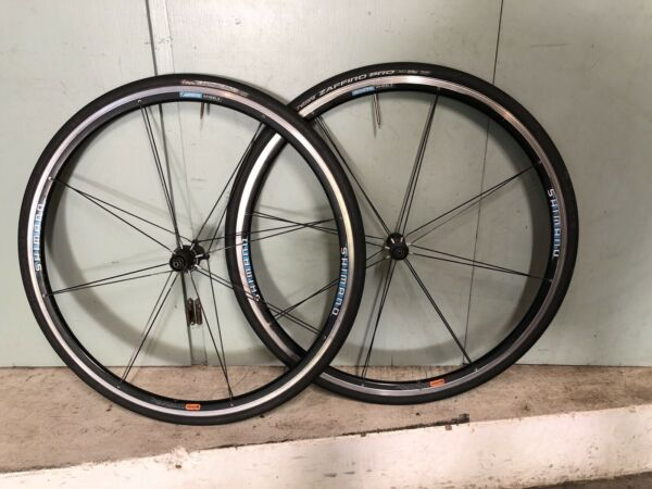 Shimano WH R540 9 10 Speed 700c Wheelset Clincher QR Tires