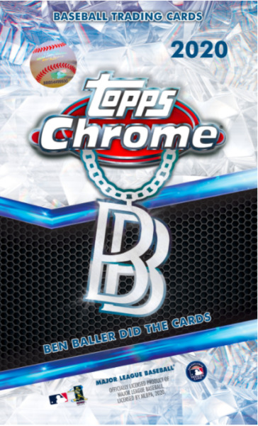 2020 Topps Chrome Ben Baller Edition Sealed Pack Online Exclusive IN HAND
