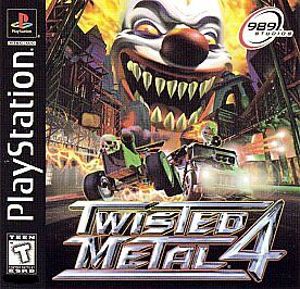 Twisted Metal 4 Sony PlayStation 1 1999