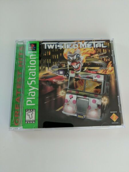 Twisted Metal Sony PlayStation 1 1995 authentic complete CIB ps1 psx