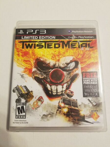 Twisted Metal Limited Edition. PS3. Complete