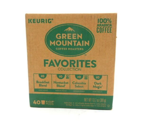 Keurig Green Mountain Coffee Roasters Favorites Collection Variety Pack 40KCUP