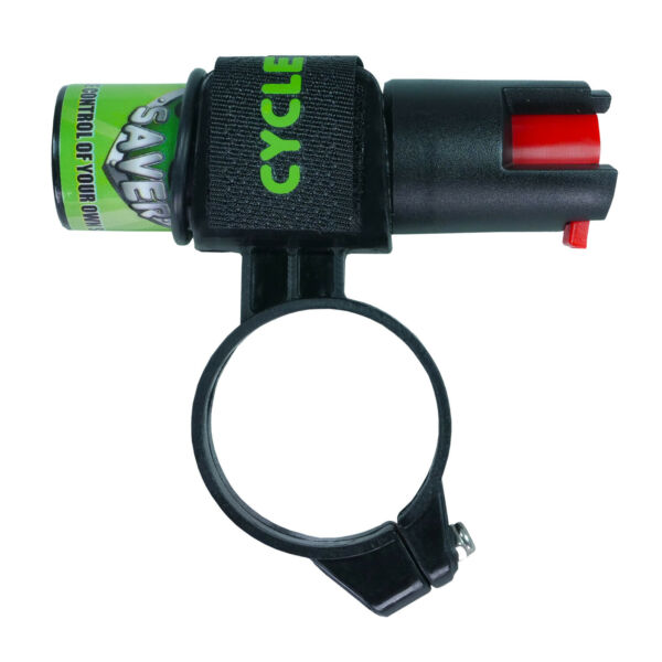 Pepper Spray for Bikes Dog Spray with Mount for Bicycles Small $15.95