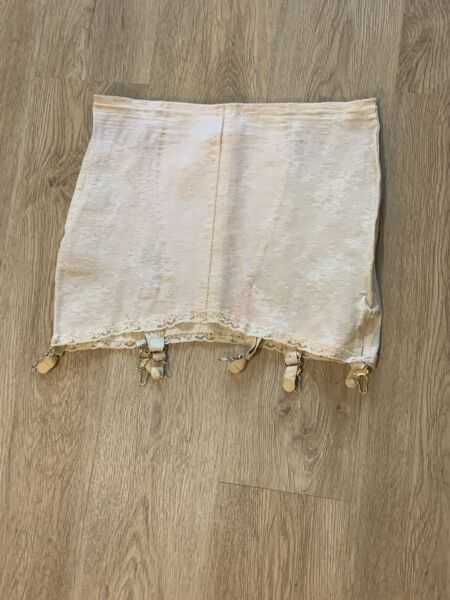 Vintage Garter Belt Girdle Open Bottom VINTAGE