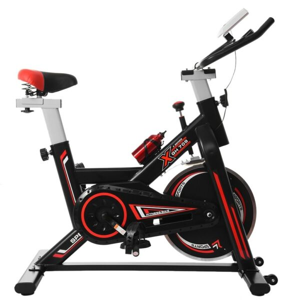 Cyclace Stationary Exercise Bike Indoor Cycling Bicycle Trainer 400lbs Home Gym $209.99