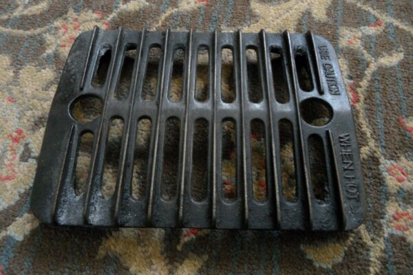 Antique Cast Iron Oven Broiler Grate