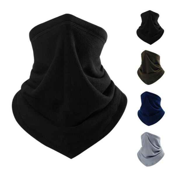 Winter Warm Fleece Neck Gaiter Tube Scarf Gaiter Motorcycle Bike Face Cover US $6.69