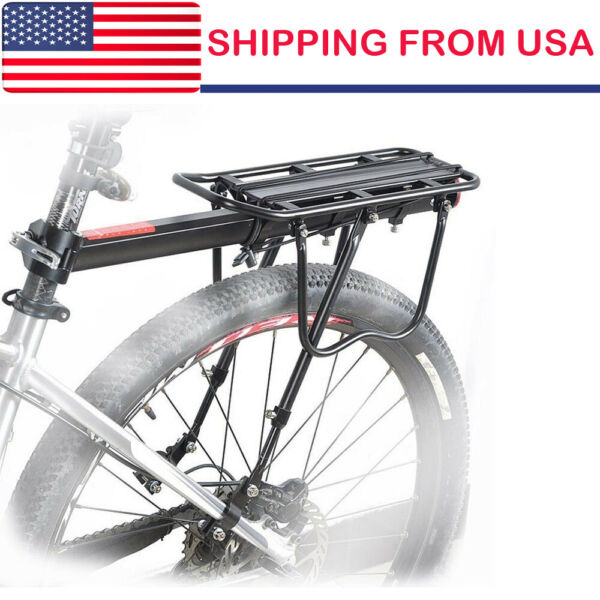 Bicycle Mountain Bike Rear Rack Seat Post Frame Mount Pannier Luggage Carrier US $22.75