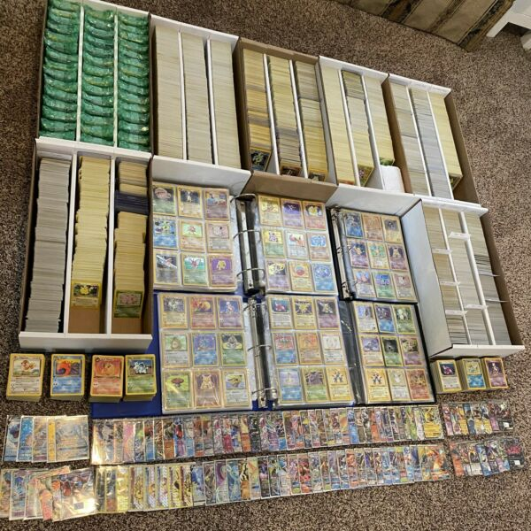50 Original Vintage Pokemon Cards 1st Edition Holo Rare