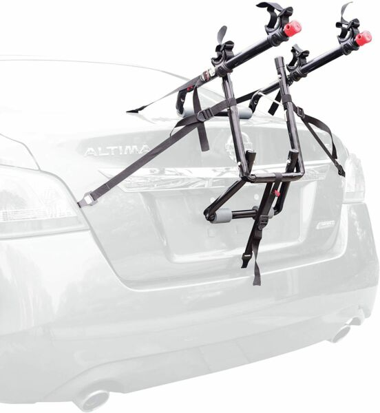 Allen Sports Deluxe 2 Bike Trunk Mount Rack Model 102DN R $43.01