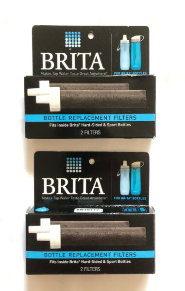 Brita Bottle Replacement Filters 2 2 packs BB06 *NEW*