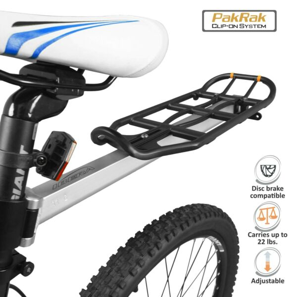 Ibera Bicycle Rear Rack Seatpost Mounted Commuter Carrier amp; Pannier Cycling Rack $29.99