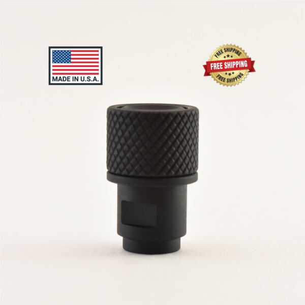 Made In USA M8x.75 to 1 2 28 Adapter amp; Thread Protector Walther P22 Samp;W Mamp;P22