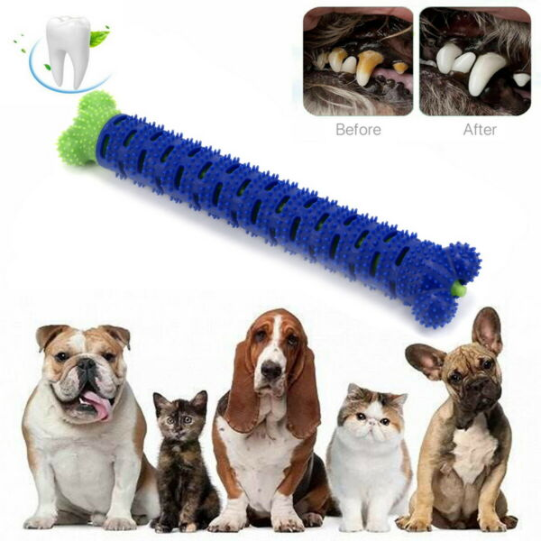 Dog Pet Oral Dental Care Cleaner Toothbrush Stick Dog Teeth Cleaning Chew Toys $7.99