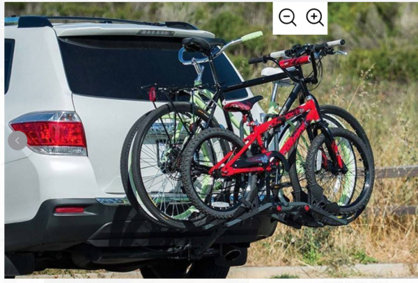 Bell Right Up 350 3 Bicycle Platform Hitch Rack $140.00
