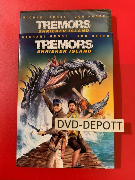 Tremors: Shrieker Island DVD amp; Slipcover AUTHENTIC Brand New FAST Free Shipping $16.99