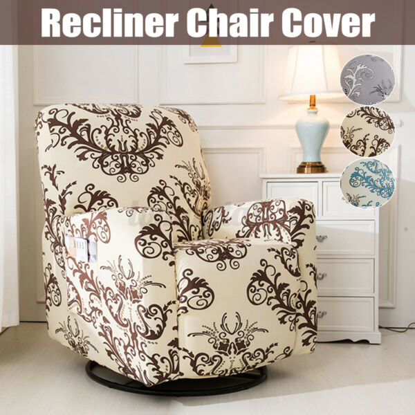 Stretch Washable Recliner Chair Slip Cover Anti dirty Home Furniture D Y $32.73